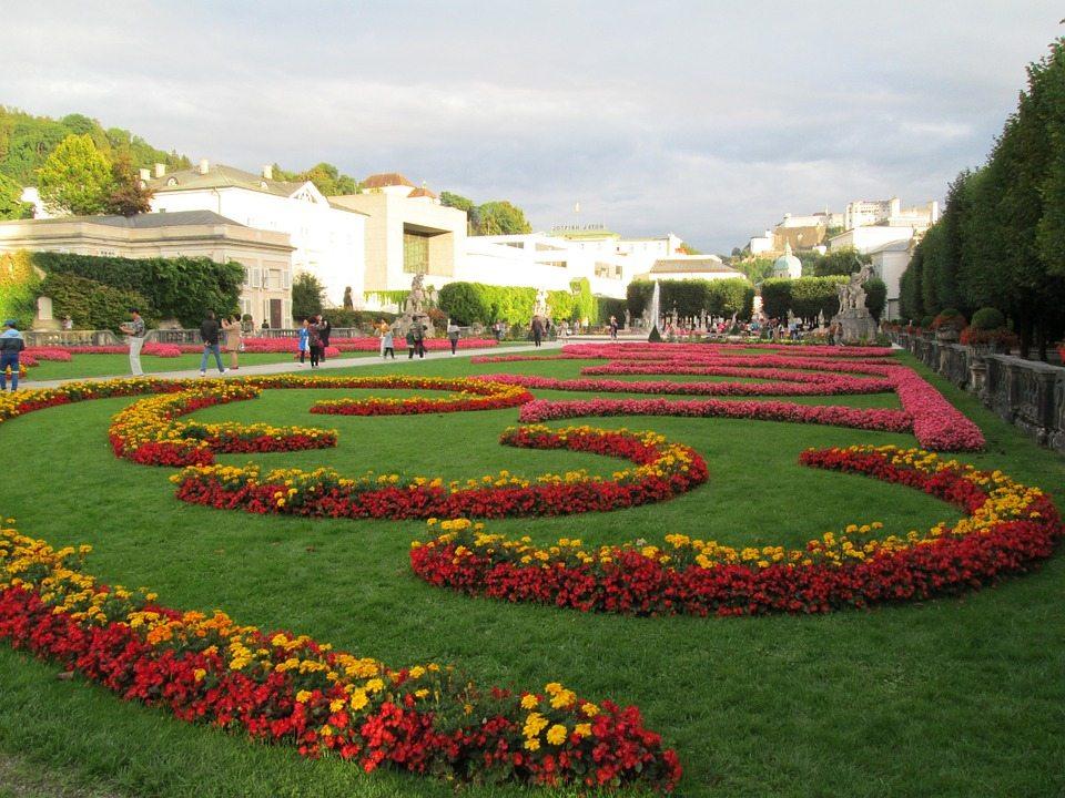 mirabell záhrady