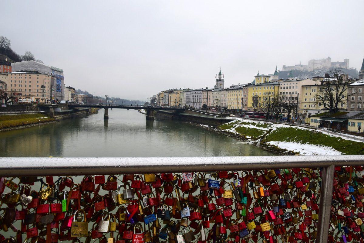 salzburg most a zámky lásky