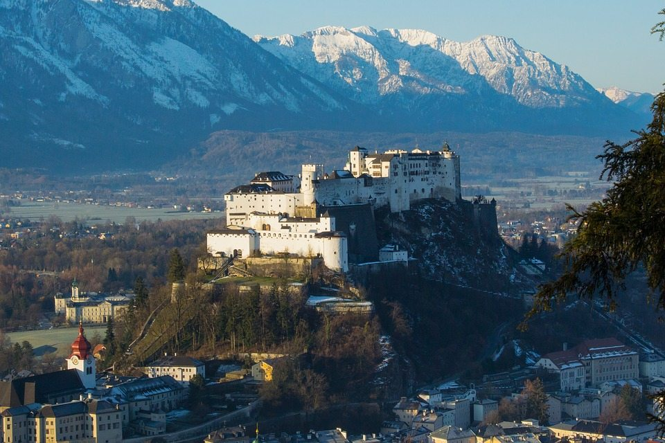 Hohen Salzburg Festung - Hrad