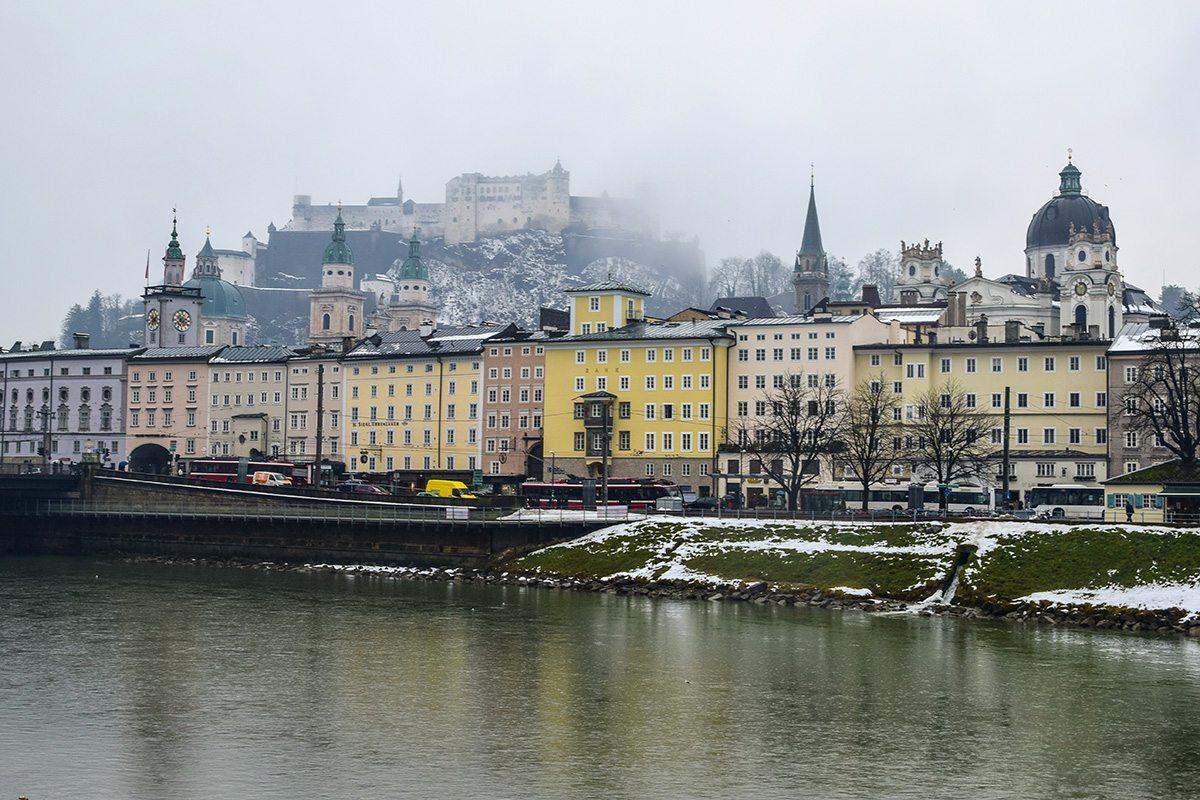 salzburg panorama z mostu