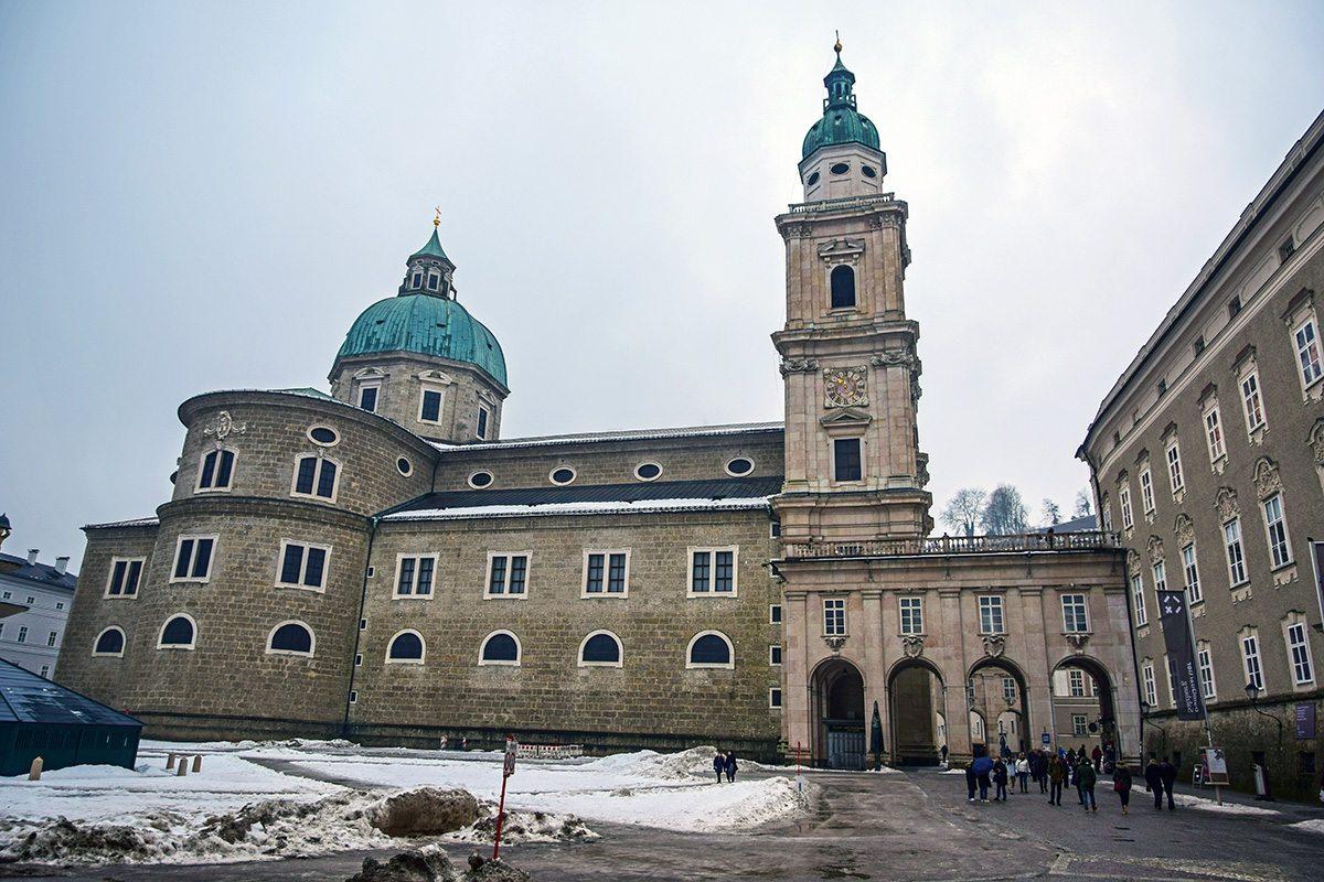salzburg katedrála