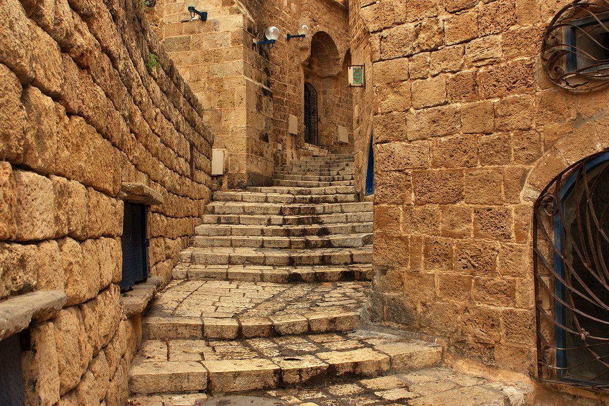 staré uličky - Jaffa