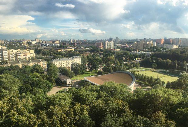 Bielorusko - Minsk, Gorkeho park