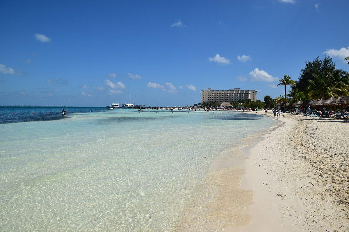 Cancún, severná časť zona hoteliera