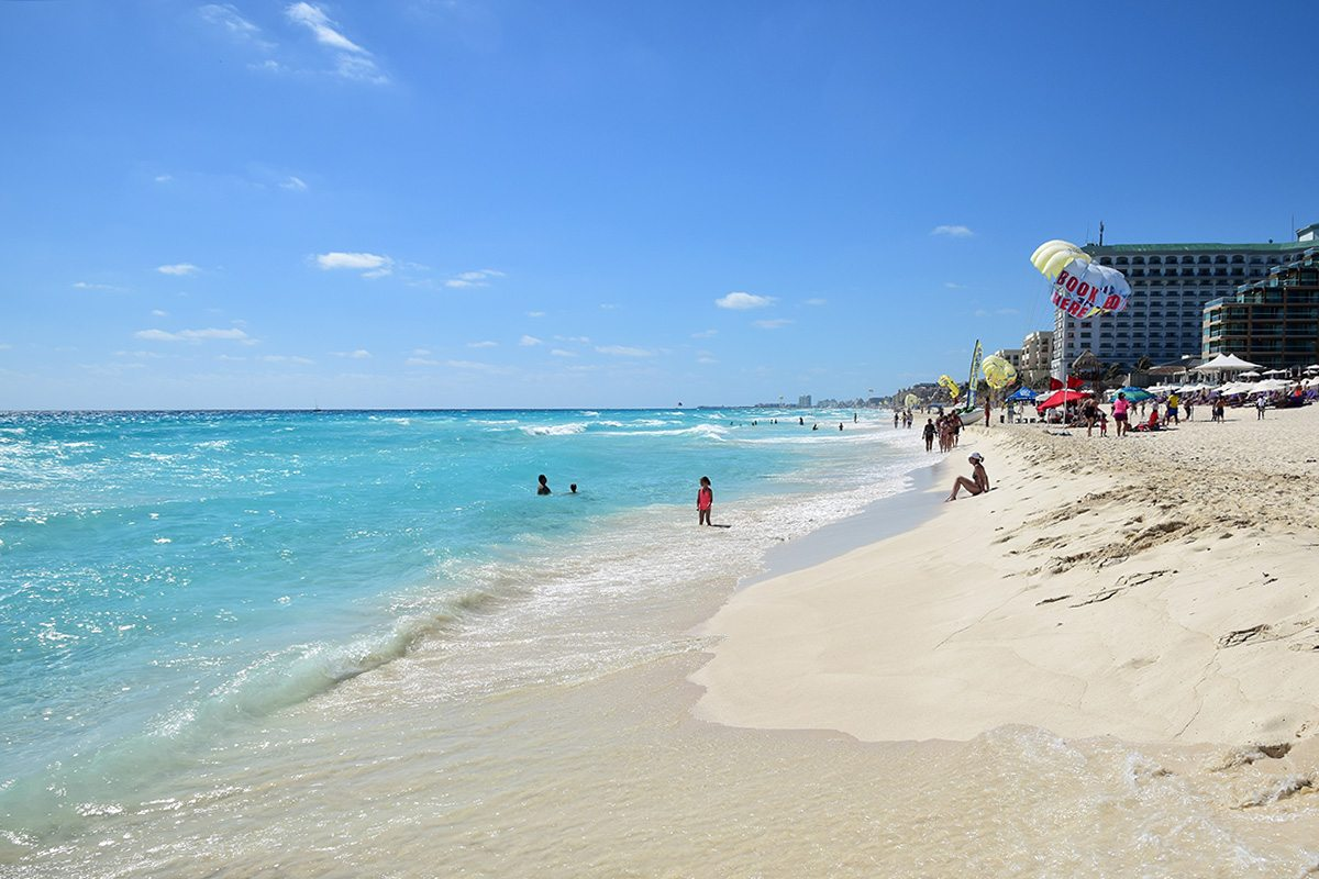 Cancún - zona hoteliera