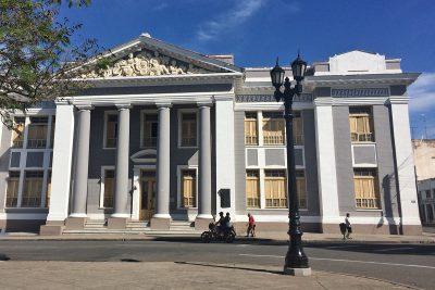 historické budovy Cienfuegos