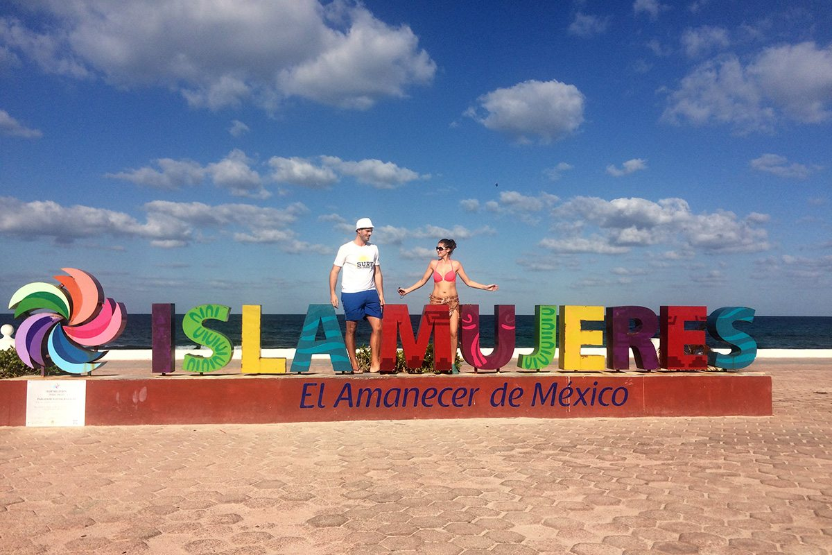 Ostrov Isla Mujeres - Mexiko