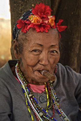kubánka s cigarou