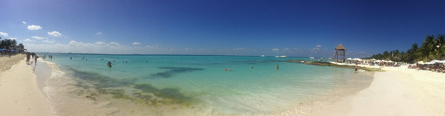 Playa Norte - pláž na Isla Mujeres
