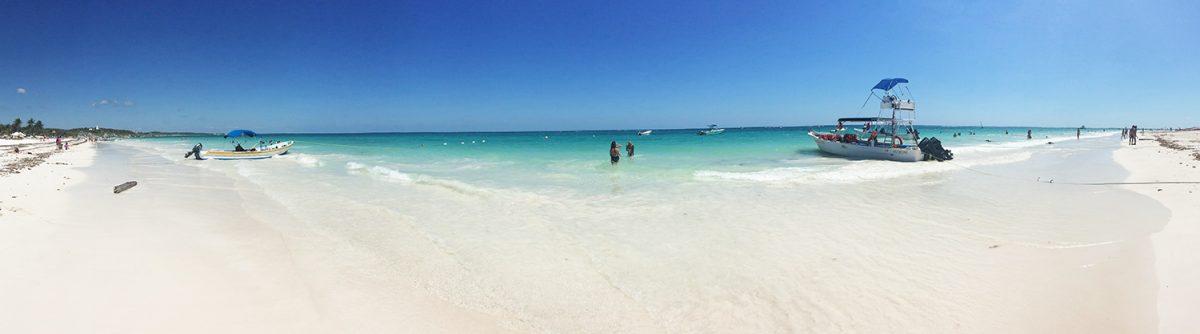 Pláže v Mexiku - Tulum