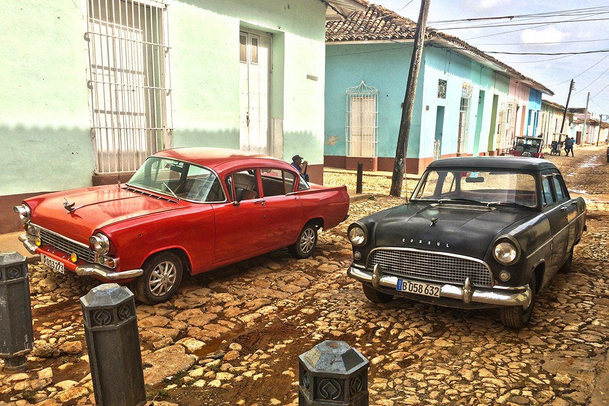 trinidad domčeky a autá
