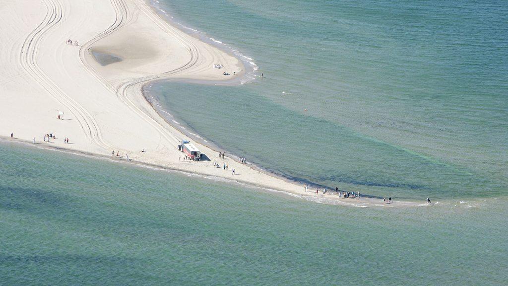 Skagen časť Grenen- Baltické aSeverné more