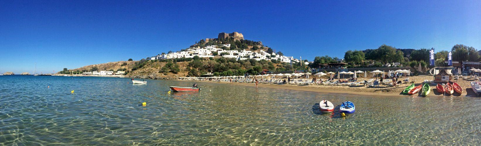 f5886e66d89b Lindos - fotogenické mestečko na gréckom Rodose s bohatou históriou