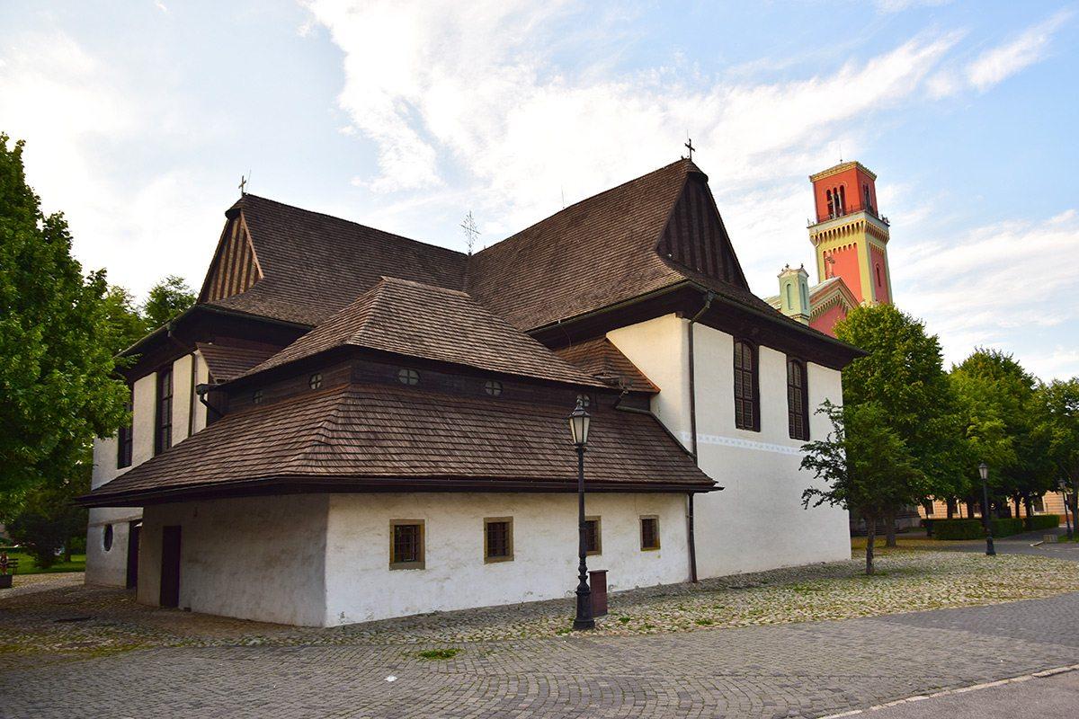 Kežmarok - drevený artikulárny kostol