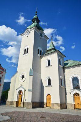 Ružomberok - Kostol sv. Ondreja