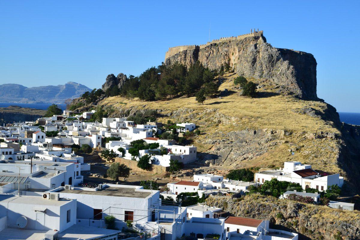 Lindos - Akropola a hrad