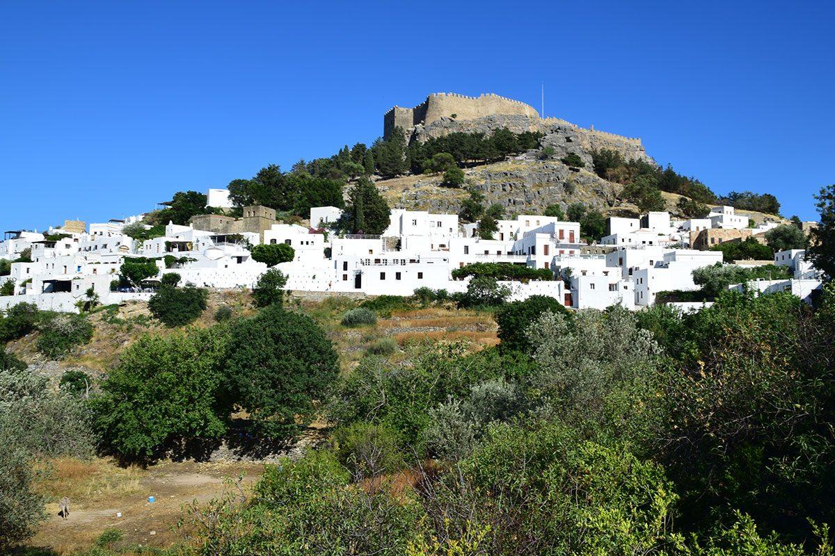 Lindos - mesto a hrad