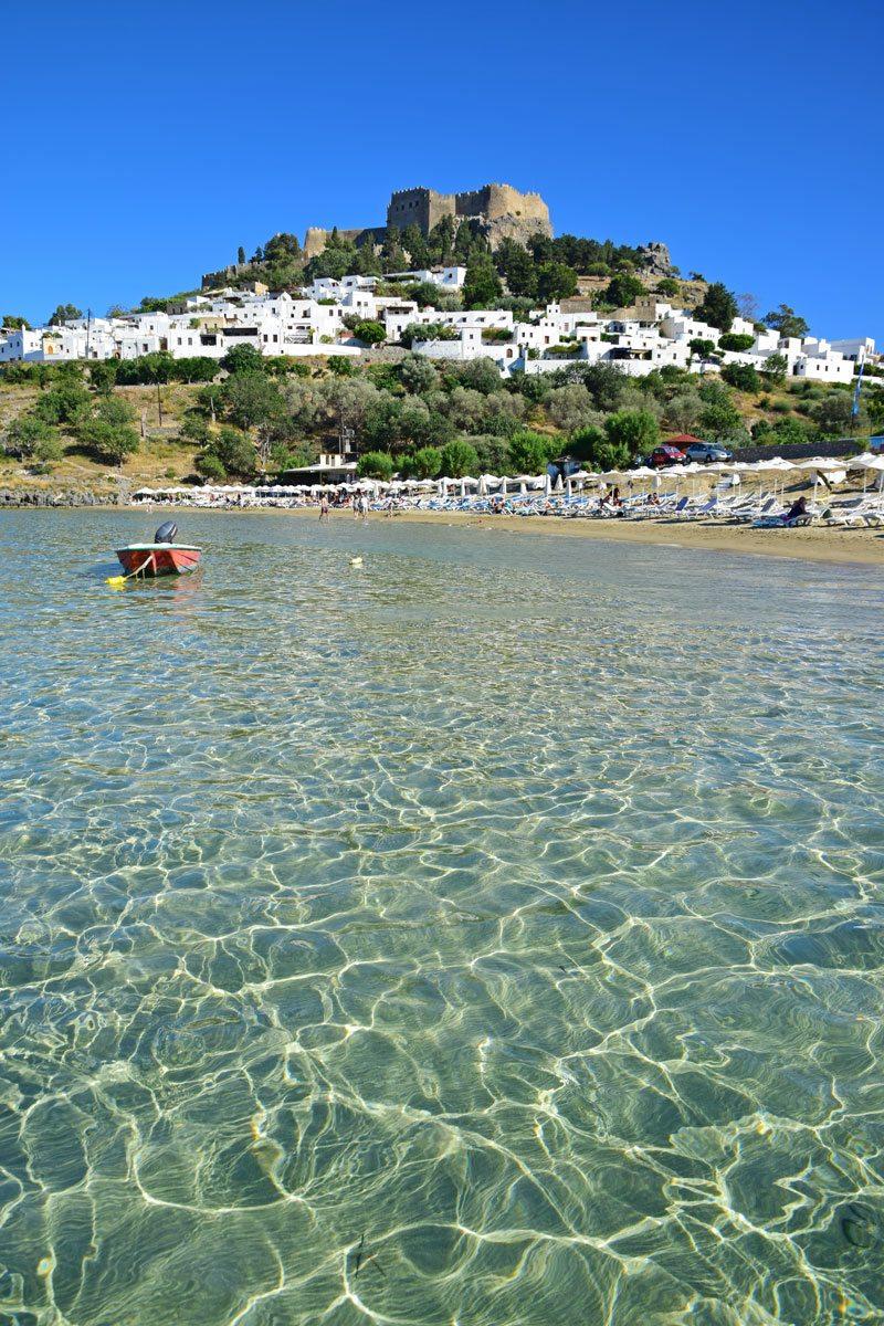 Lindos pláž - Rodos