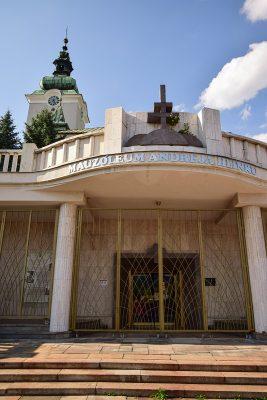 Ružomberok - mauzóleum Andreja Hlinku