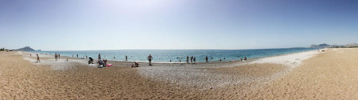 najkrajšie pláže Rhodos