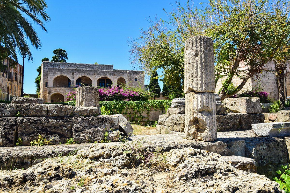 staré mesto Rhodos