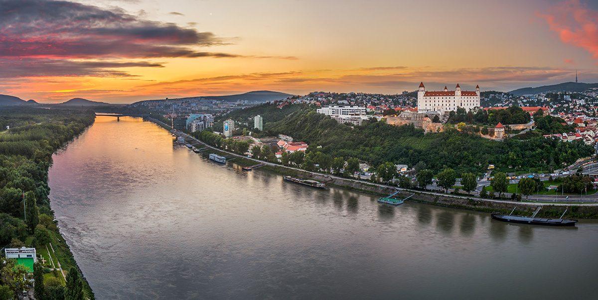 Bratislava panorama - Top 5 Slovensko
