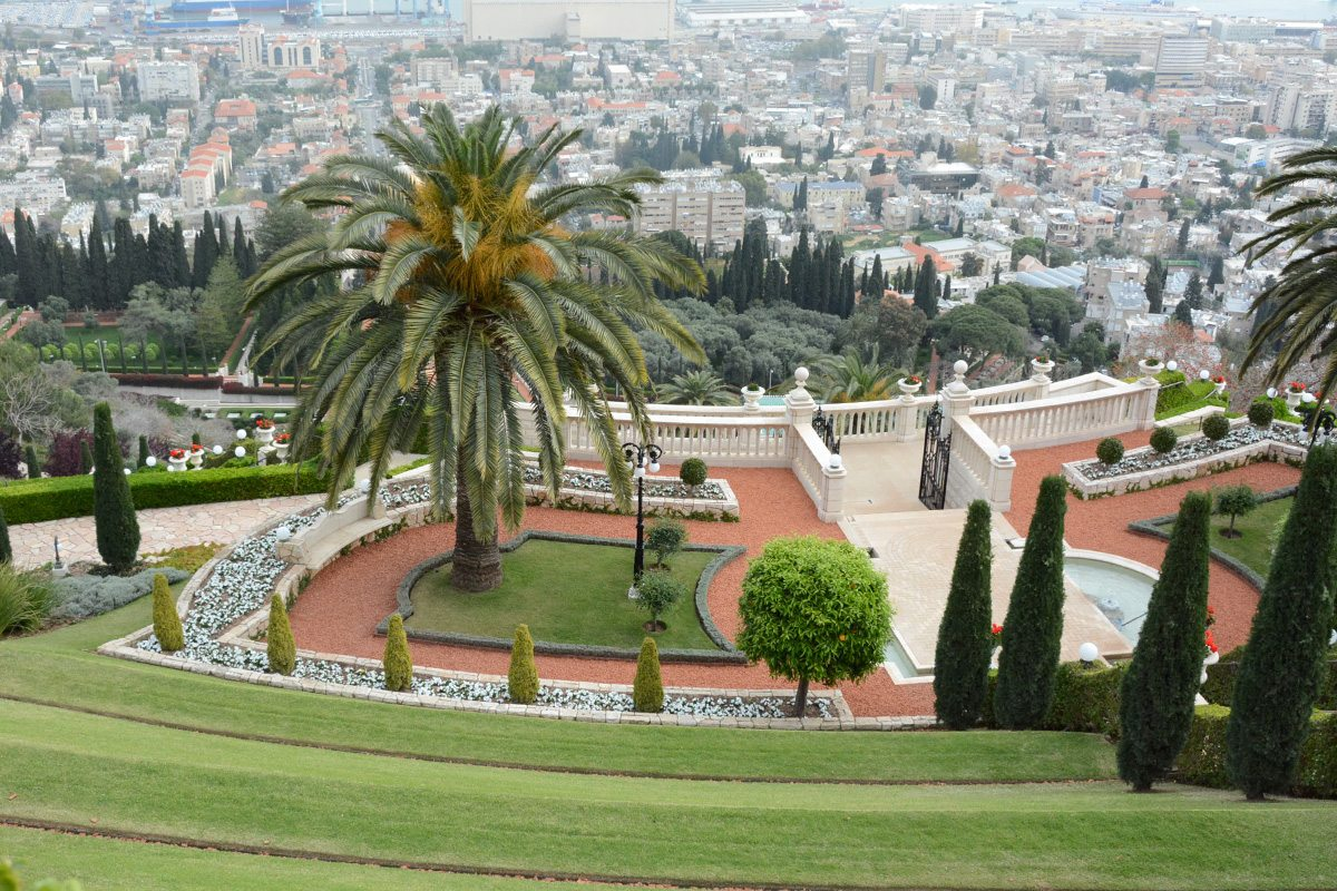 Haifa - na sever od Tel Avivu