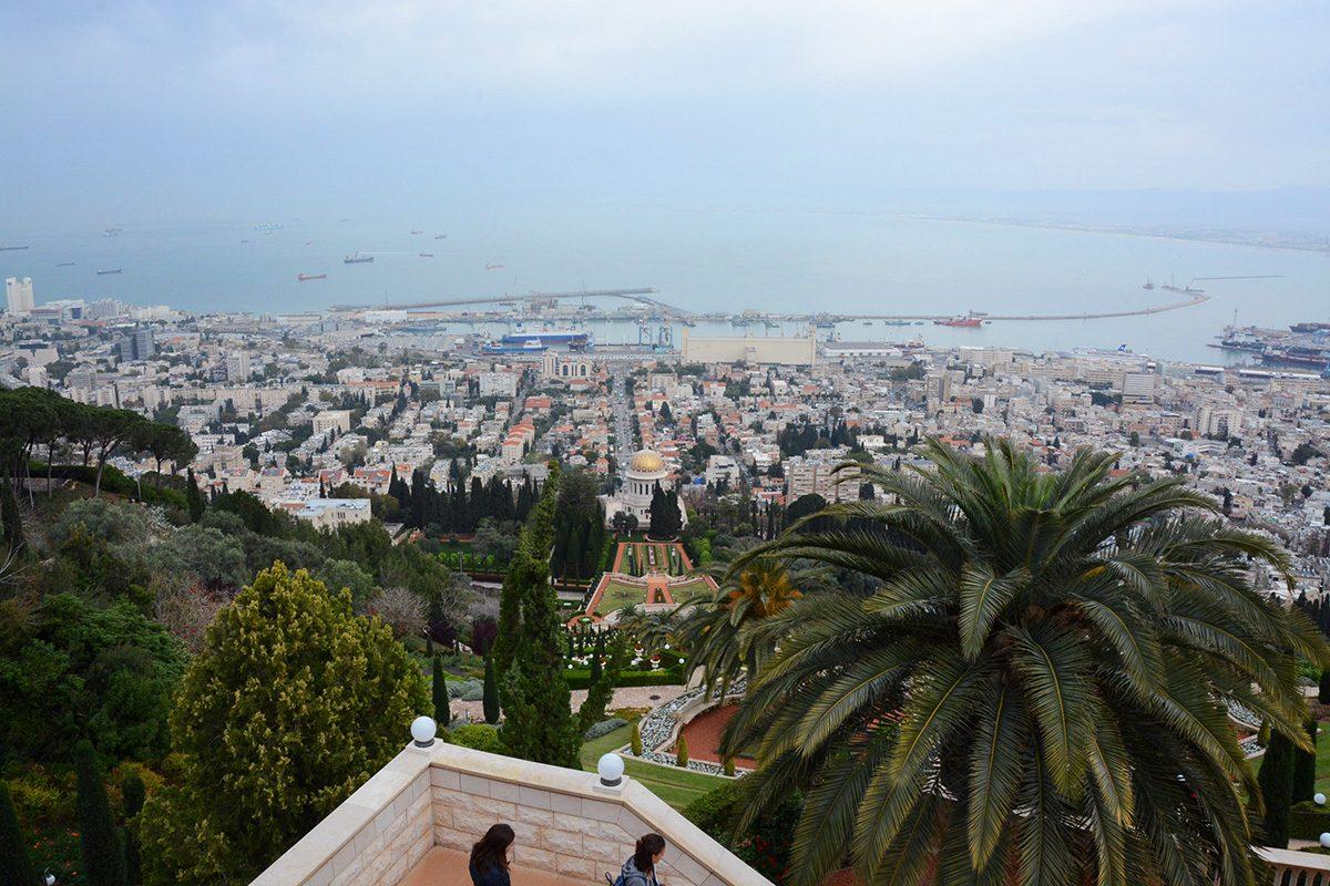Haifa výhľad