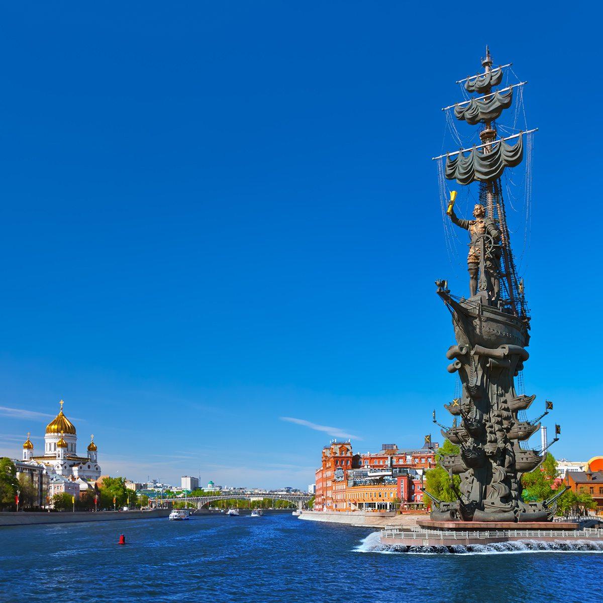 Socha St. Peter , Moskva