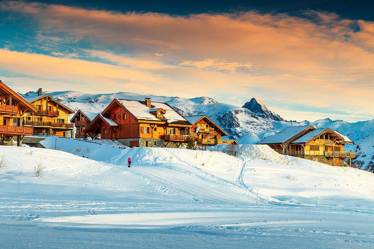 lyžovačka francúzske alpy