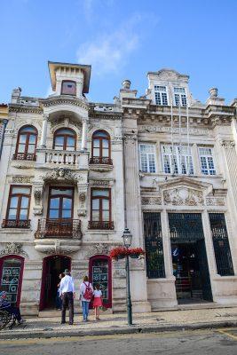 architektúra a historické budovy Aveiro
