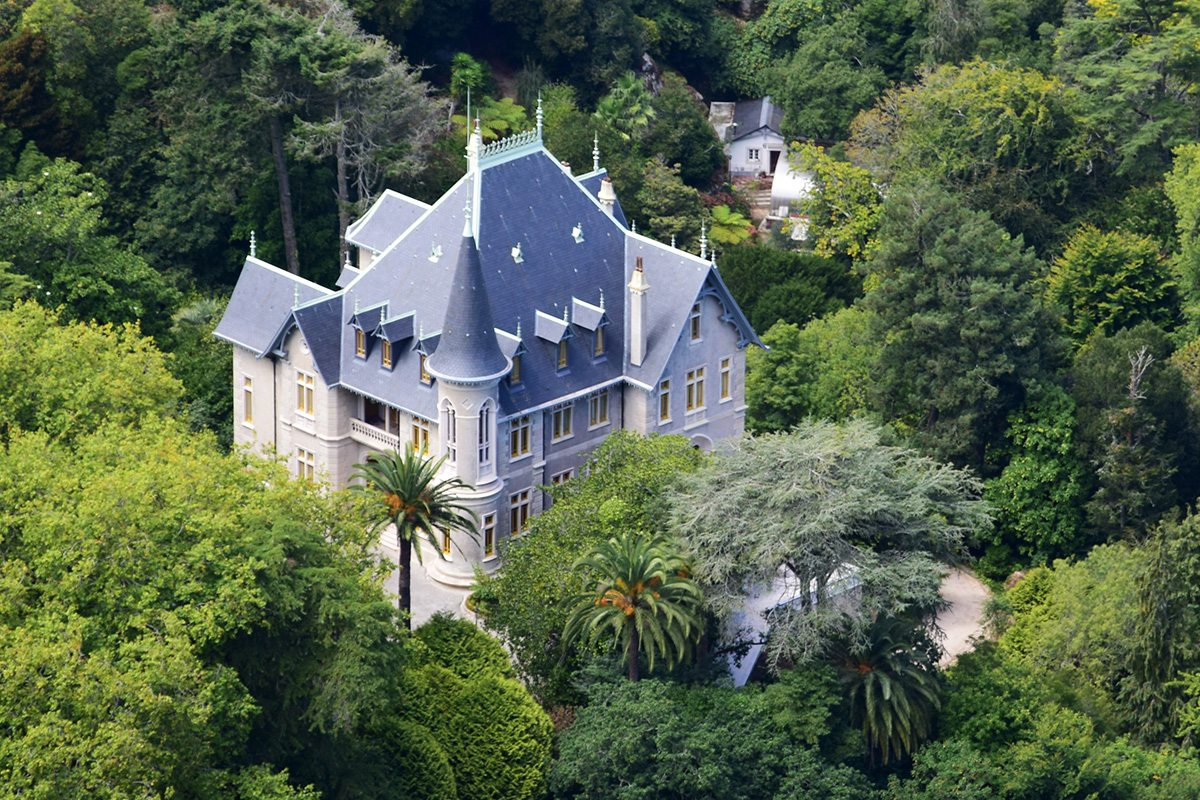rezidencia v Sintre