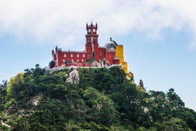 Sintra - kopec a palácio da pena