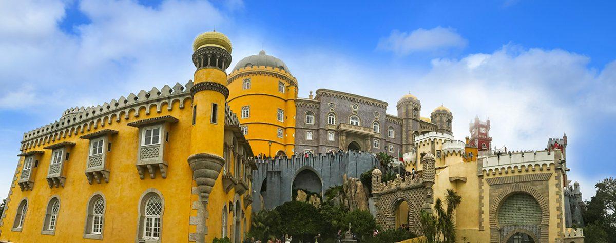 sintra, Palacio Pena - Portugalsko