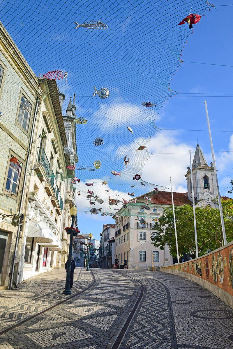 aveiro - ulica s rybami