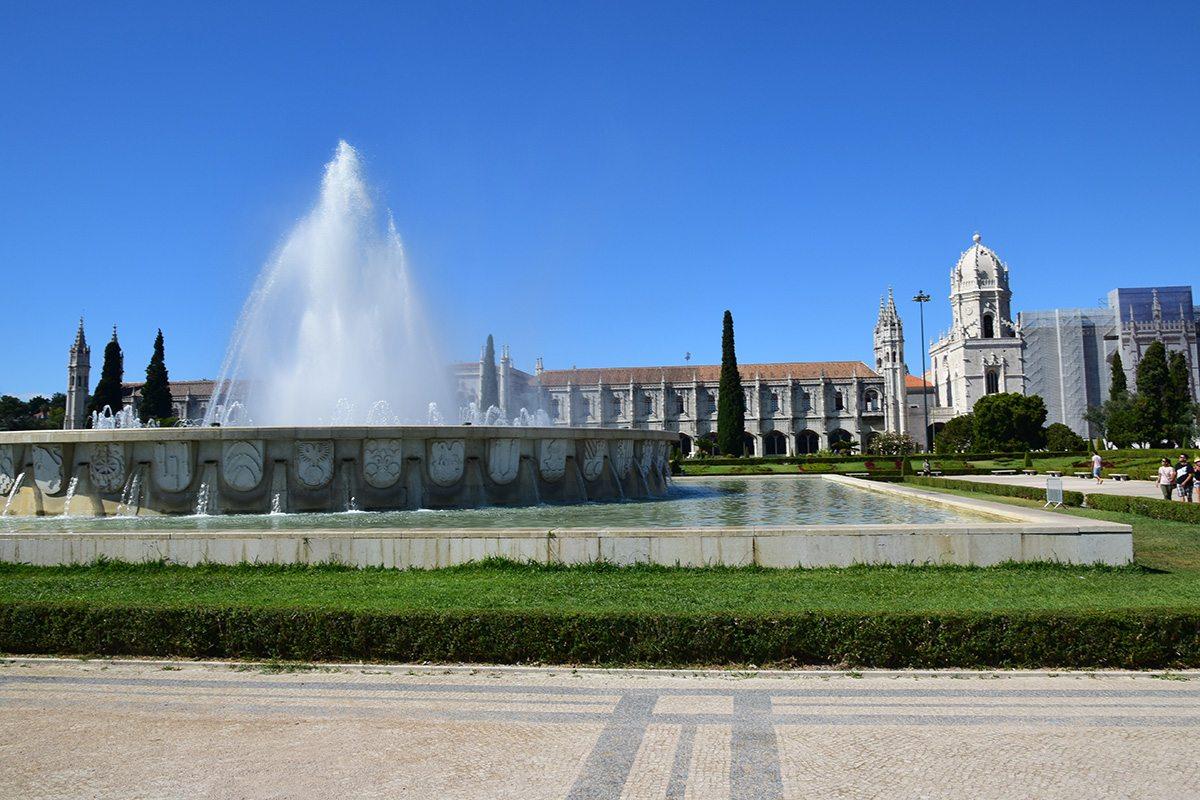Záhrady a kláštor Hieronymitov - Belém