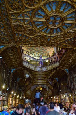 najkrajšie kníhkupectvo na svete - Livreria Lello, Porto