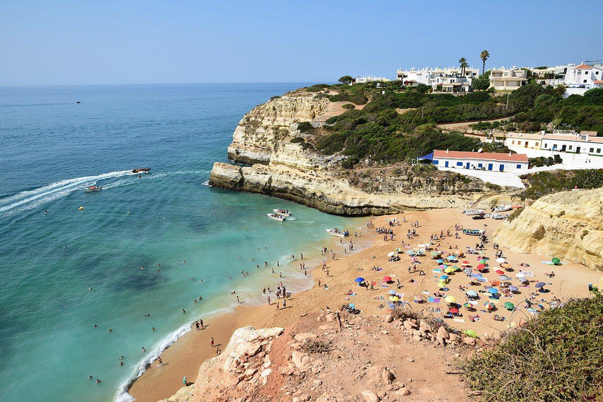 Portugalsko roadtrip- Praia Benagil