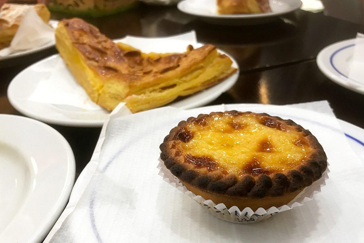 sladkosti v Lisabone