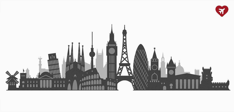 Cestovateľský kvíz - Európske mestá