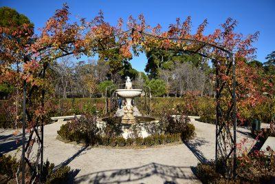 la rosaleda park retiro