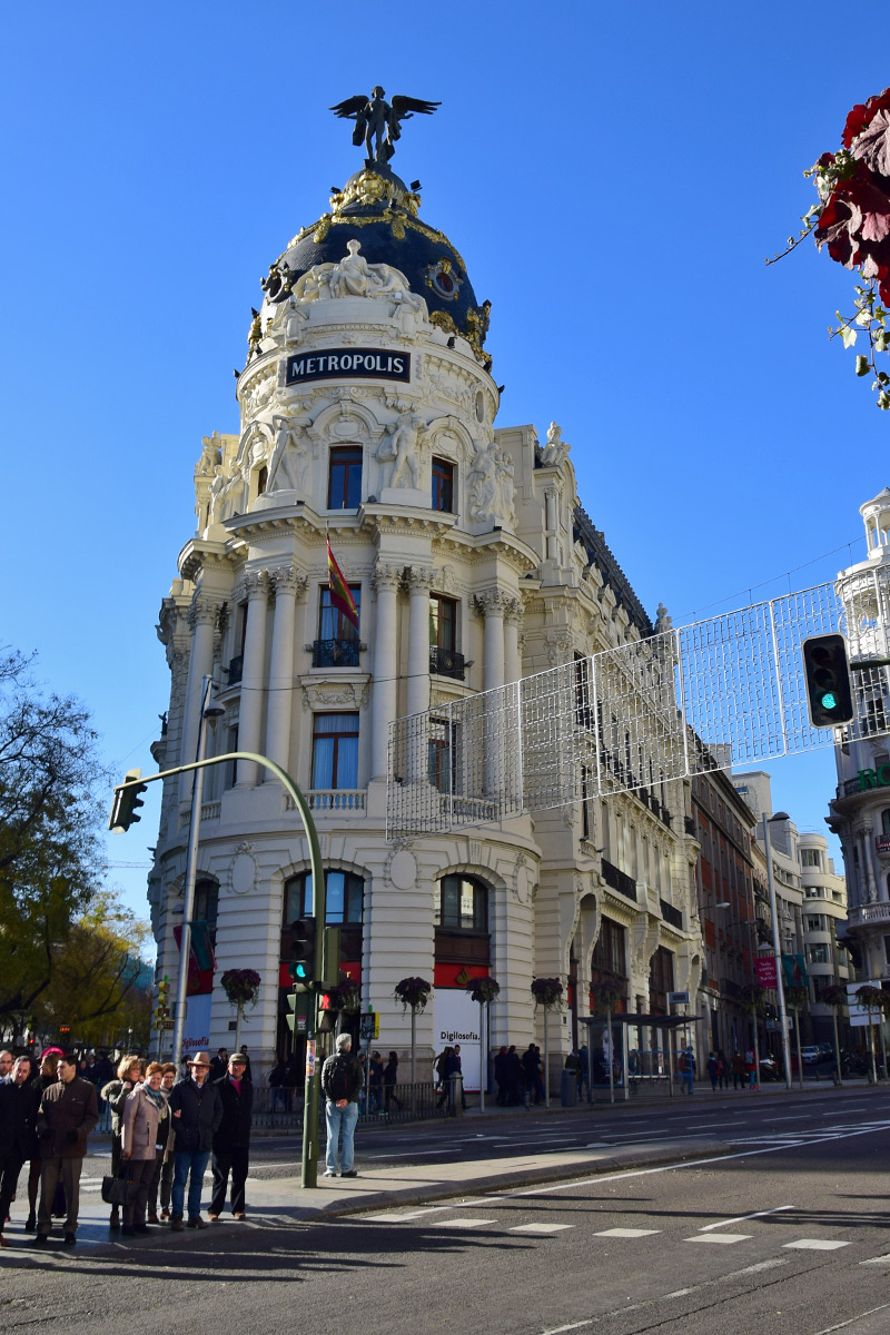 edificio metropolis - Madrid