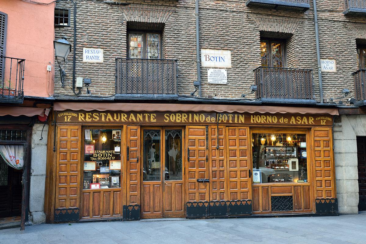 Botin - najstaršia reštaurácia na svete v Madride