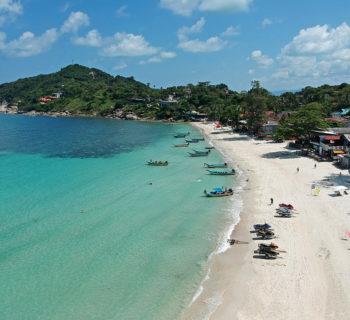 Ko Phangan - haad rin pláž