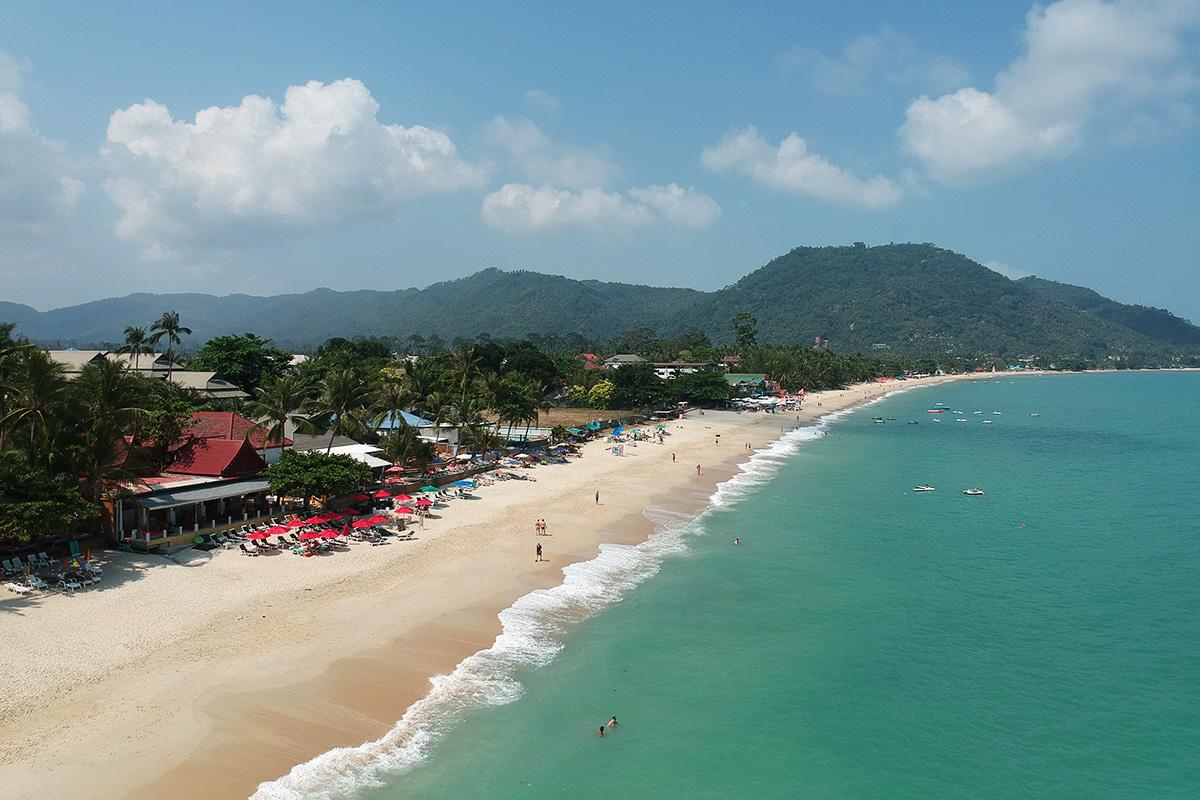 Lamai beach - pláže na Koh Samui
