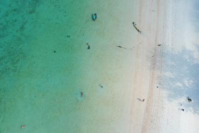 pláž malibu beach kophangan