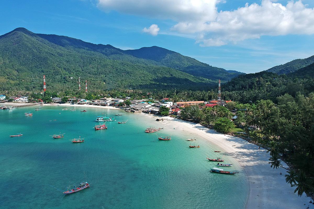 malibu beach kophangan