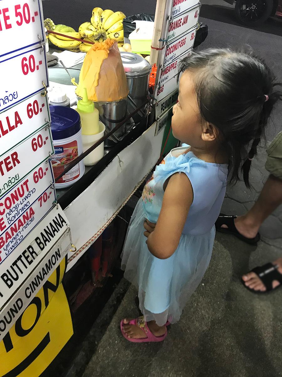palacinky Thajsko