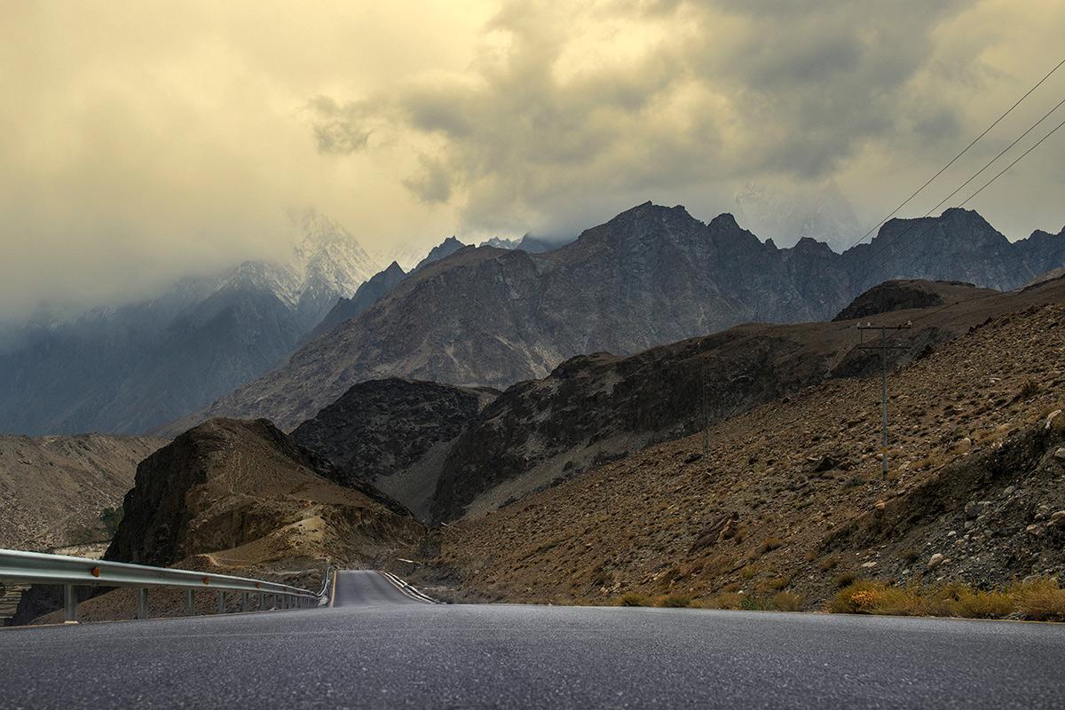 Karakoram - nebezpečné cesty