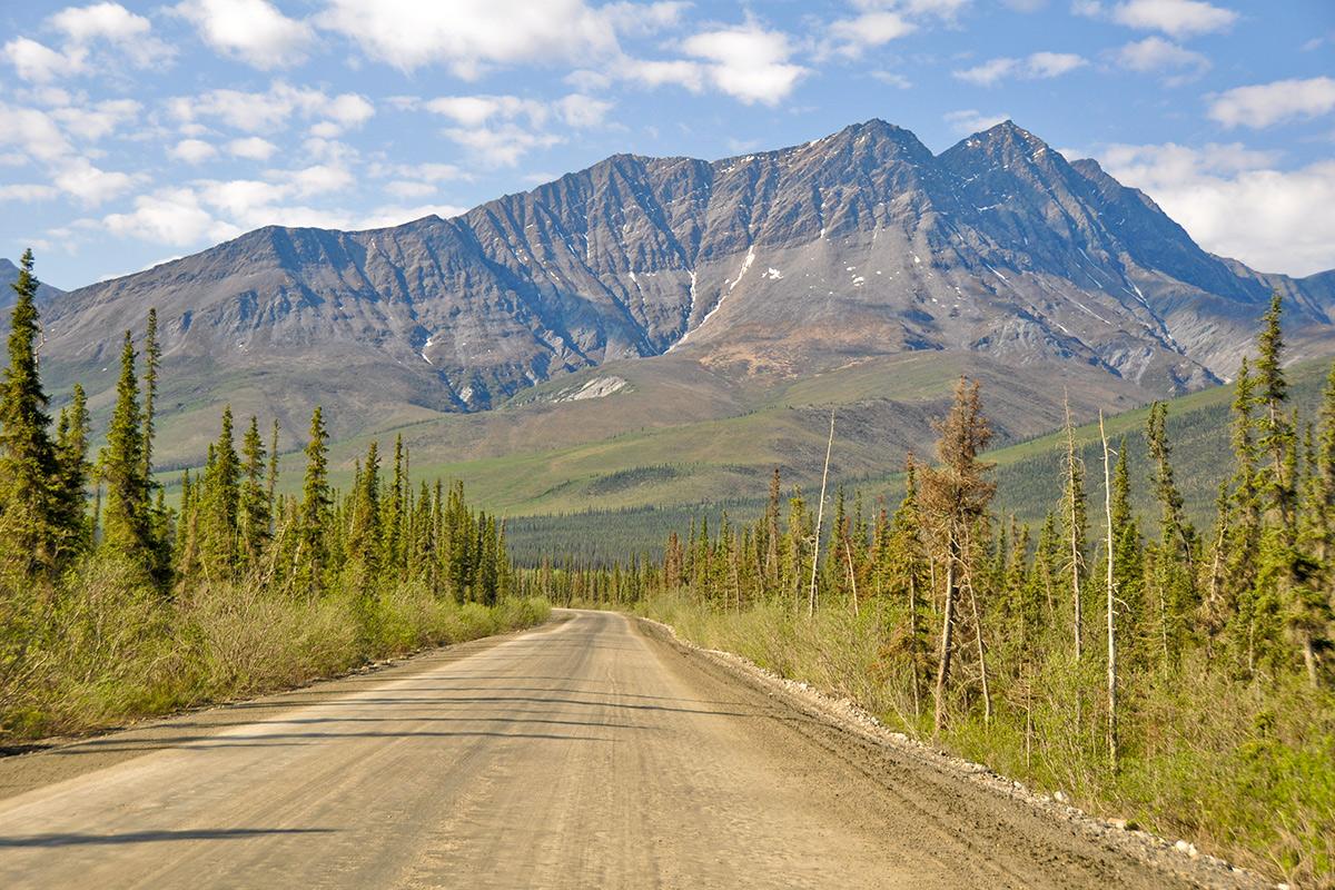 Diaľnica Dalton Highway na Aljaške